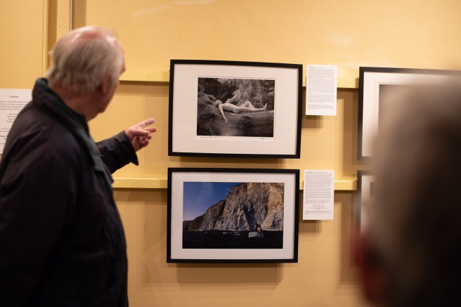 Tim Andrews - The Curator of His Own Photographs!