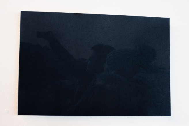 'L'Autre Rive' by Emeric Lhuisset (2018) - An Unfixed Cyanotype Almost Completely Faded