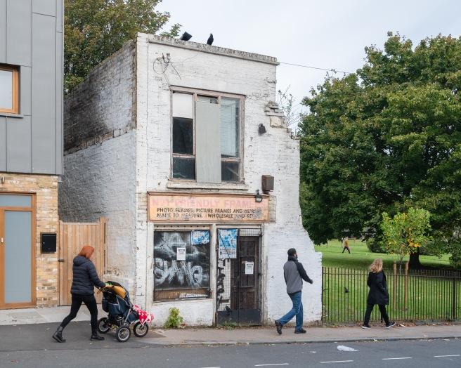 WIP - No.1 Friendly Framers, Friendly Street, Deptford, October 2019