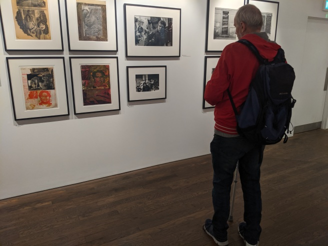 Taking a Look at Some of the Photographs on Display on the 'Shouts' Level of the Exhibition I