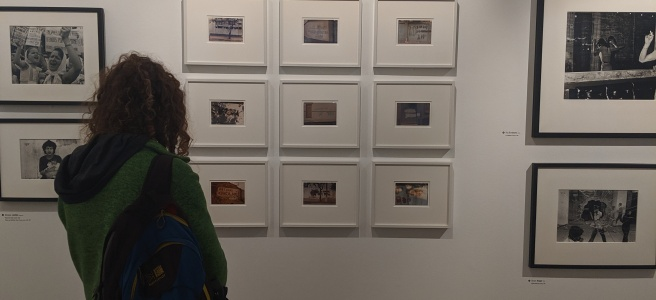 Taking a Look at Some of the Photographs on Display on the 'Shouts' Level of the Exhibition II