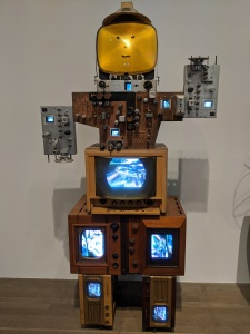 Another of the Robots in the Room 'Experiments' by Nam June Paik