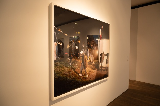 One of the Images for Périphérique by Mohamed Bourouissa at the Photographers' Gallery